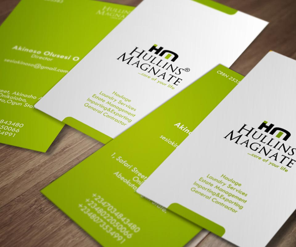 Logo and Complementary Card Design